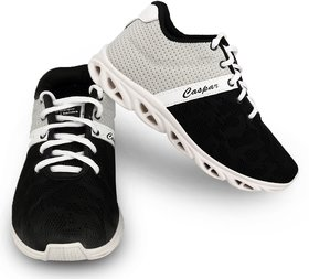 Birde Grey  Black Canvas Sport Shoes For Boys  Mens