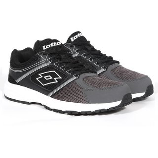 Lotto Fausto Running Shoes For Men (Grey Black)
