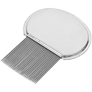 QD  Professional Stainless Steel hair Comb For head  Lice Treatment , Hair treatment
