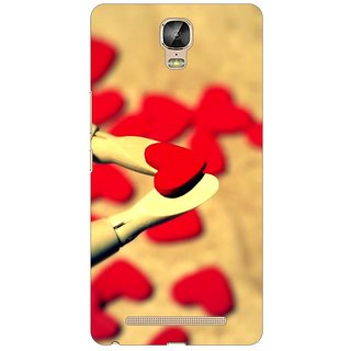 Gionee Marathon M5 Plus Back Cover By G.Store