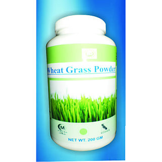 Hawaiian Herbal, Hawaii,USA - Wheat Grass Powder - 200 gm (Buy any Healthcare Supplement  Get the Same Drops Free)