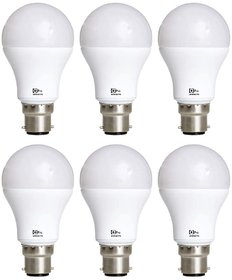 Alpha Pro 9 watt pack of 6  Lumens-700 with 1year replacement warranty