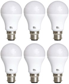 Alpha Pro 7 watt pack of 6  Lumens-560 with 1year replacement warranty