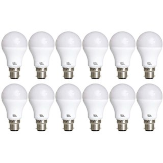Alpha Pro 12 watt pack of 12 Lumens-900 with 1year replacement warranty