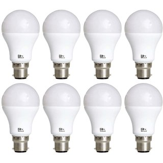 Alpha Pro 15 watt pack of 8 Lumens-1200 with 1year replacement warranty