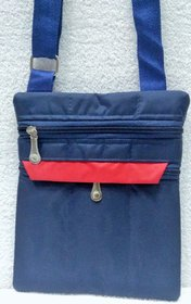 Cross Body Lightweight Girls Women's Ladies, Side Bag Sling Shoulder Bag STRONG Blue
