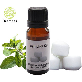 Camphor Essential Oil Pure and Natural Therapeutic Grade 10 ML