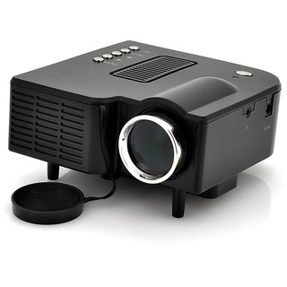 Callmate LED Portable Projector - Black