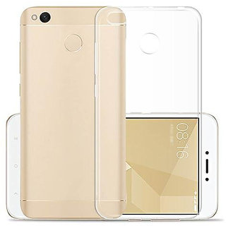 Redmi 4     Back Cover Transparent Soft Silicone Back Case Cover for Redmi4 (Indian Version 2017)