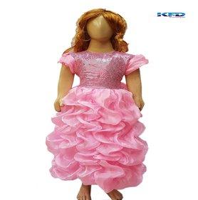 Kaku Fancy Dress Kids Barbie Gown Fancy Dress  Costume
