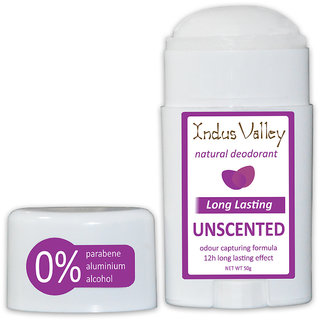 Natural Unscented Men's And Women's Roll On Deodorant 50 ml