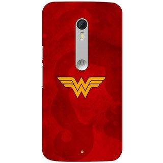 Motorola Moto X Play Back Cover By G.Store