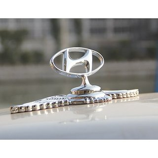 Buy Car Auto Logo Emblem Chrome Badge Front Hood Bonnet Sticker For