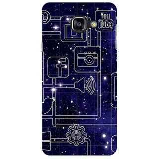 Samsung Galaxy A9 Pro Back Cover By G.Store