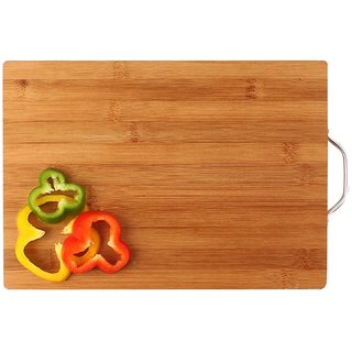 Bamboo Chopping Board with Handle