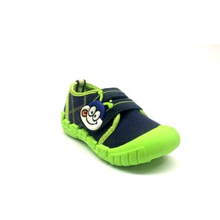 Kids Girls Boys Monkey Face Velcro Closure Casual Sneakers