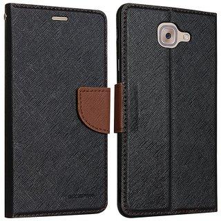 Samsung Galaxy J7 Max Flip Cover by ClickAway - Brown