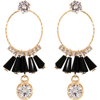 Penny Jewels Alloy Party Wear Fashionable Luxurious Beautiful Jhumki Earring Set For Women  Girls