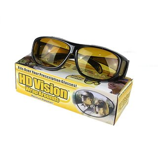 c7c3d98ec61 Buy Real Club Night Driving Glasses HD Wrap Around Glasses Night Club  Special Glasses For Night Driving Online   ₹299 from ShopClues