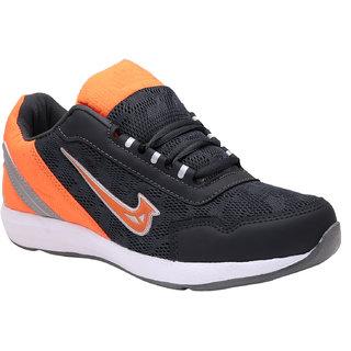 Smartwood Gray Orange Training Sport shoes