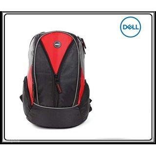 Dell 15.6 inch Laptop Backpack Bag ( Black +Red )
