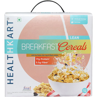 HealthKart Breakfast Cereal ; with high Protein ; Oats ; Soy flakes & Black Raisins (1 Kg)