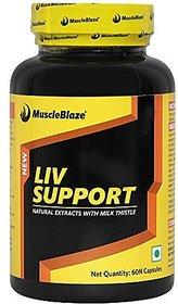 MuscleBlaze Liv Formula With Milk Thistle 60 Capsules U