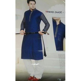 NAWAB ZADDE fashionable unstitched kurta length for man and boys.