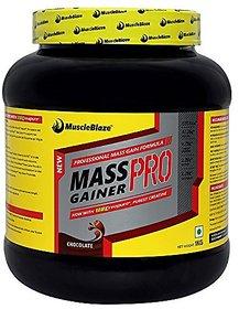 MuscleBlaze Mass Gainer PRO With Creapure - 1 Kg (Choco