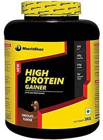 MuscleBlaze High Protein Lean Mass Gainer 3 Kg (Chocola