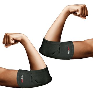 Healthgenie Elbow Support For Premium Compression And Pain Relief  1 Pair, Large