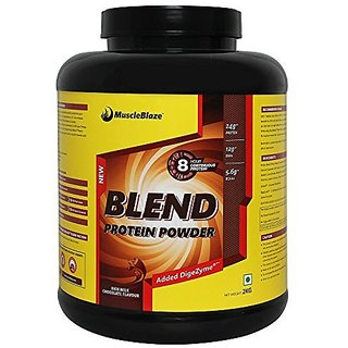 MuscleBlaze Blend Protein - 2 kg (Chocolate)