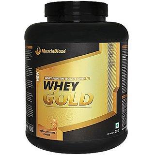 Muscleblaze Whey Gold - 2 kg (Mocha Cappuccino)