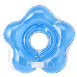 Futaba Inflatable Baby Neck Float Safety Swimming Ring - Blue