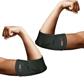 Healthgenie Elbow Support For Premium Compression And Pain Relief  1 Pair, Medium