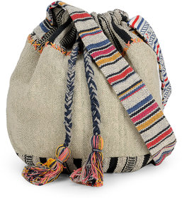 The House Of Tara Womens Crossbody Bag (Multicolor,Htb 09)