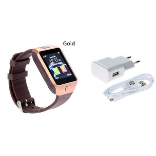 Zemini DZ09 Smart Watch and Mobile Charger for OPPO MIRROR 5(DZ09 Smart Watch With 4G Sim Card, Memory Card| Mobile Charger)