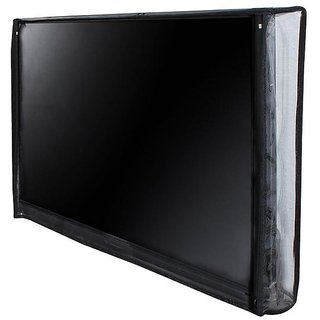 Dream Care Transparent PVC LED/LCD TV Display Protectors Cover For LG 32LF6300 80 cm (32 inches) Full HD LED TV (Black)