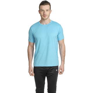 T-10 Sports Men'S Grey Half Sleeve T-Shirts