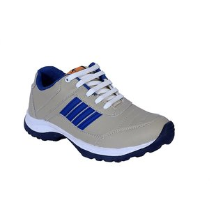 BRK Brands Inc. Men's Cream Running Shoes