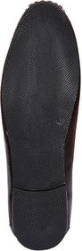 Foot N Style Brown Slip On Formal Shoes For Men's Fs317