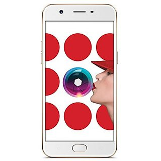 Buy Oppo CPH1701 (3 GB,32 GB,Gold) Online @ ₹14999 from ShopClues