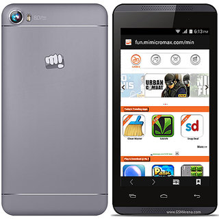 Micromax Canvas Fire 4  1  GB, 8  GB, Cosmic Grey  Smartphones