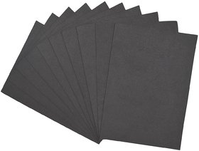 A4 Eva Foam Sheet: 2MM Thick (Black) pack of 5 sheets