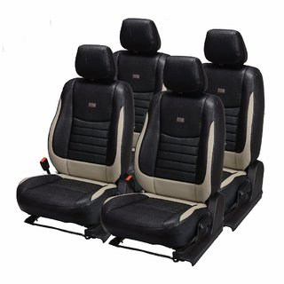 Pegasus Premium PU Leather Car Seat Cover for Toyota Corolla Altis