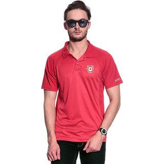 c1bdf121 Buy T-10 Sports Men'S Red Half Sleeve T-Shirts Online - Get 14% Off