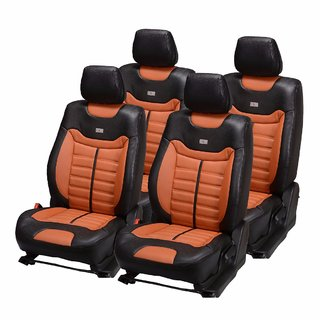 Pegasus Premium PU Leather Car Seat Cover for Nissan Micra Active