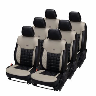 Pegasus Premium PU Leather Car Seat Cover for Tata Safari
