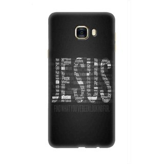 Samsung Galaxy C9 Pro Designer back case By SLR  ( SMC9PRO_SLR3DAA_G0038 )