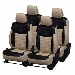 Pegasus Premium PU Leather Car Seat Cover for Skoda Fabia